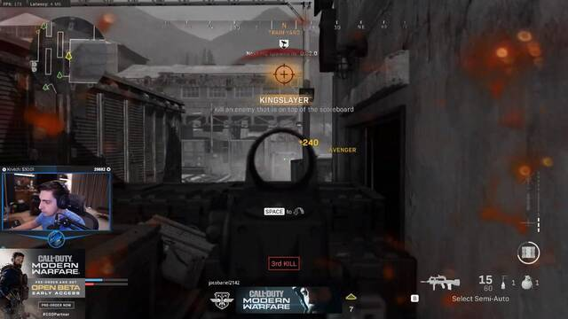 Shroud vuelve a activar el 'aimbot humano' esta vez en CoD: Modern Warfare