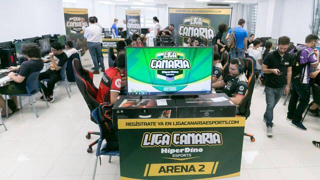 Comienza la segunda edición de la Liga Canaria de Esports Hiperdino