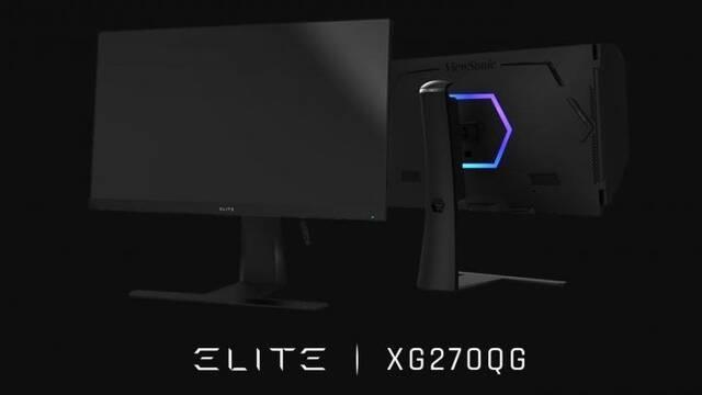 Nuevos monitores ViewSonic ELITE con hasta 165 Hz