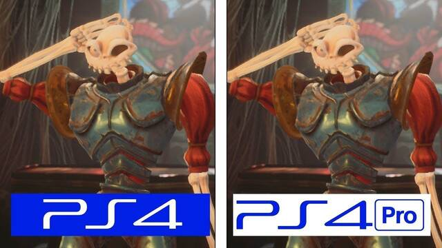 Comparativa gráfica: Demo de Medievil Remake en PS4 y PS4 Pro