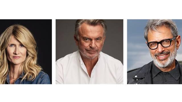 Laura Dern, Sam Neill y Jeff Goldblum regresan a Jurassic World 3