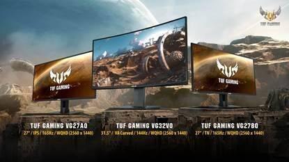 ASUS presenta su nuevo trío de monitores para jugar
