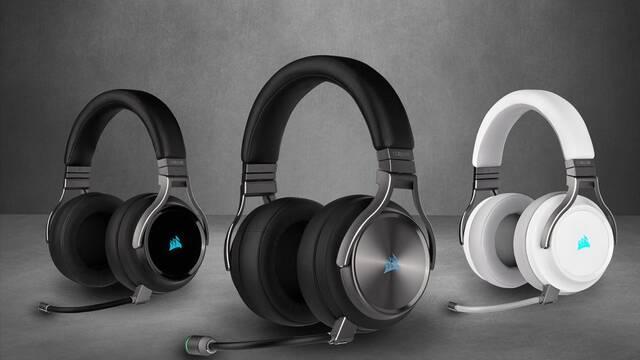 Corsair presenta sus nuevos auriculares VIRTUOSO RGB Wireless