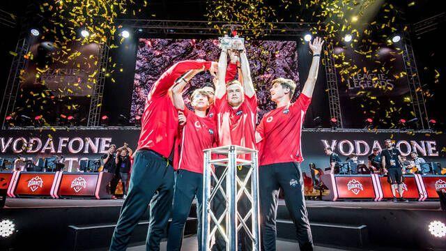 Vodafone GIants es el nuevo campeón de la SLO de League of Legends