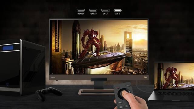 BenQ lanza un nuevo monitor para jugar con 144Hz y 'HDRi'