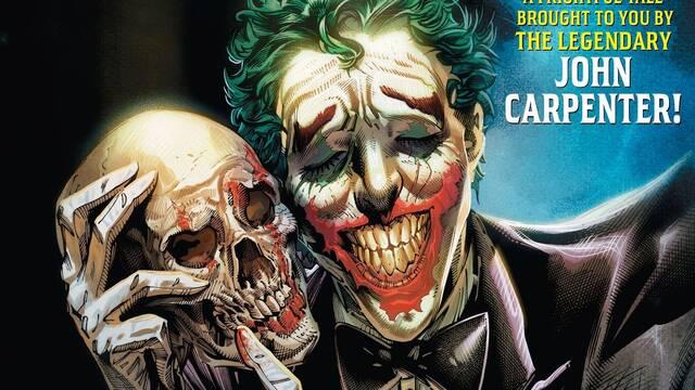 Así es el cómic de Joker que llega de la mano de John Carpenter