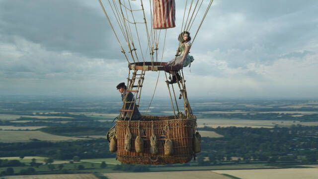 Eddie Redmayne y Felicity Jones levantan el vuelo en The Aeronauts