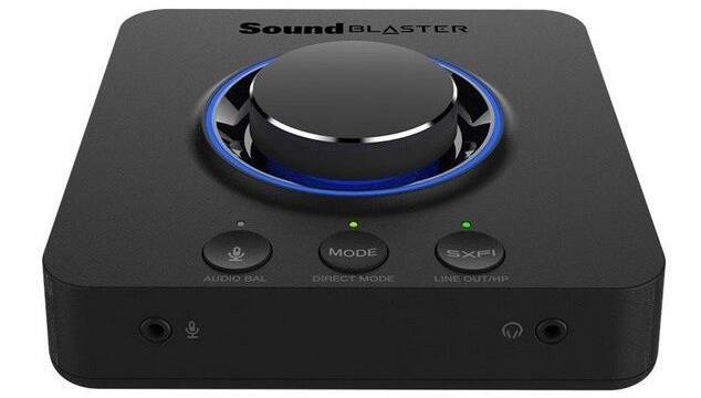 Creative lanza Sound Blaster X3, una tarjeta de sonido externa con Super X-Fi