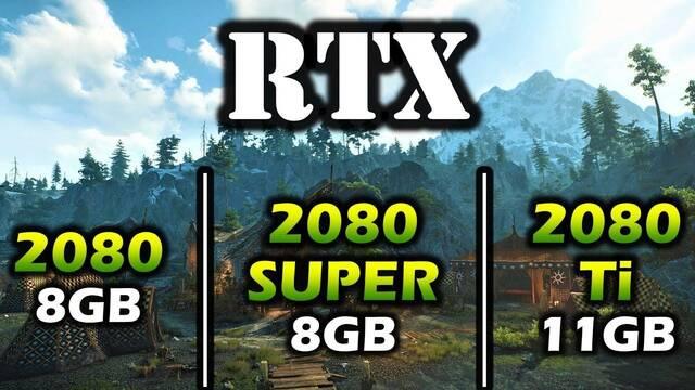 Comparan el rendimiento de las RTX 2080, 2080 Super y 2080 Ti en 15 juegos