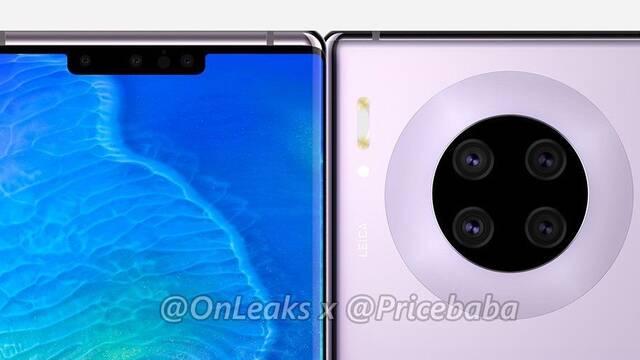 Así son los nuevos renders del Huawei Mate 30 Pro