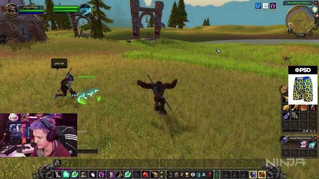 Ninja cae en WoW Classic… y también en Gears 5
