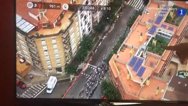 Vuelta a España 2019: El helicóptero capta una plantación de marihuana