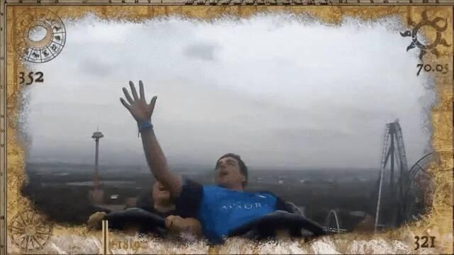 Rescata a un iPhone en el aire desde una montaña rusa