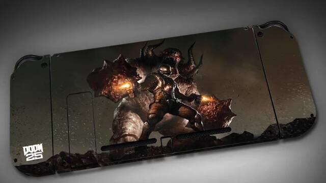Así es la Nintendo Switch de Doom 3 que ha preparado Bethesda