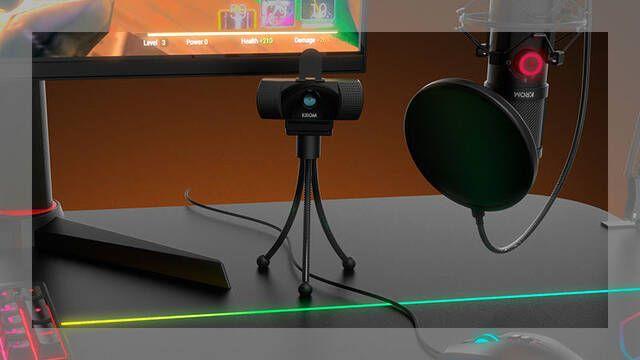 Krom presenta Krom Kam, su primera webcam para gamers
