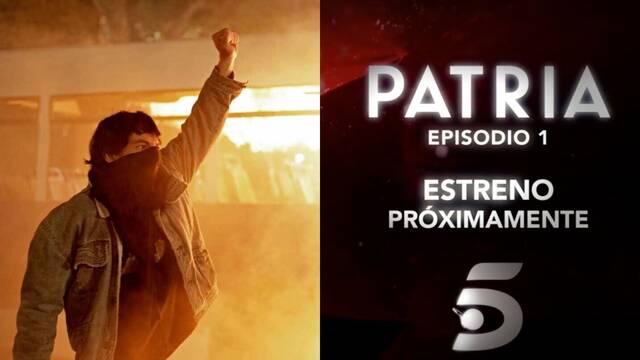 Patria: Telecinco emitirá el primer episodio de la serie en abierto