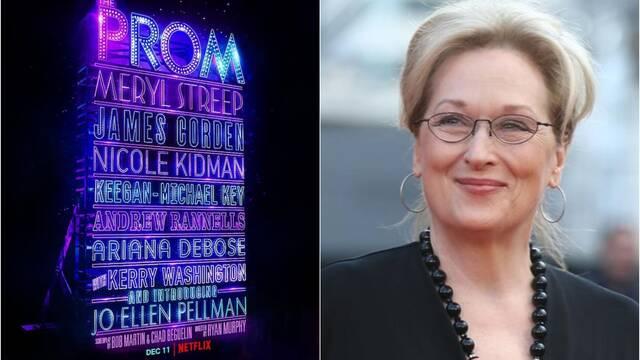 Netflix: The Prom, con Meryl Streep, se estrena el 11 de diciembre