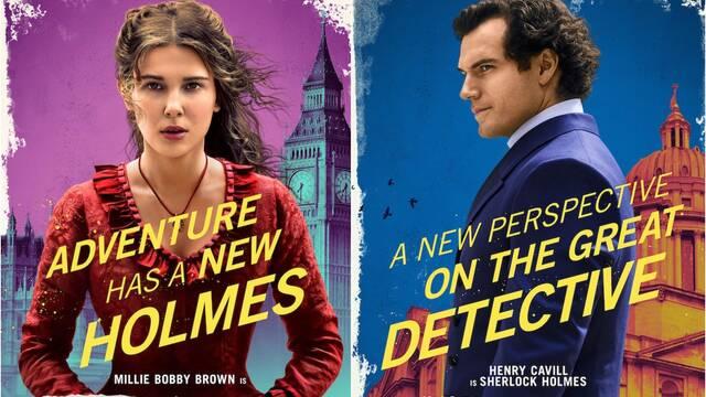 Enola Holmes: Netflix presenta a los protagonistas con nuevos pósters