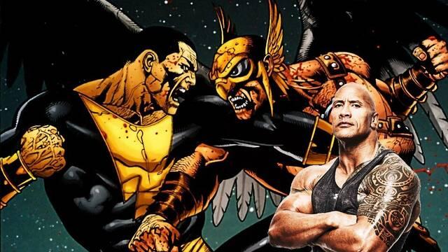 Black Adam: Hawkman y la JSA aparecerán en la película