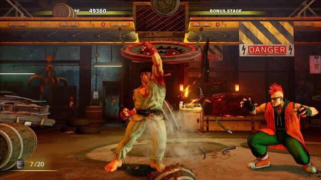 Sony anuncia las competiciones K.O. Challenge Street Fighter V para PS4