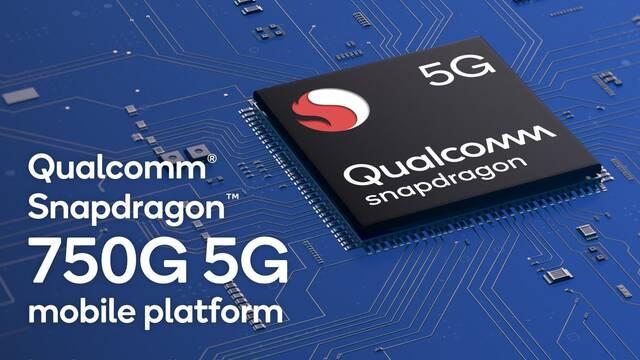 Qualcomm presenta el Snapdragon 750G, su nuevo SoC 5G para teléfonos para jugar