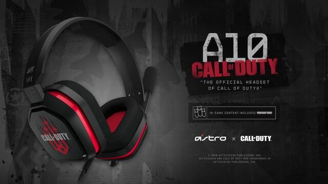 Astro Gaming anuncia sus auriculares A10 de Call of Duty: Black Ops Cold War