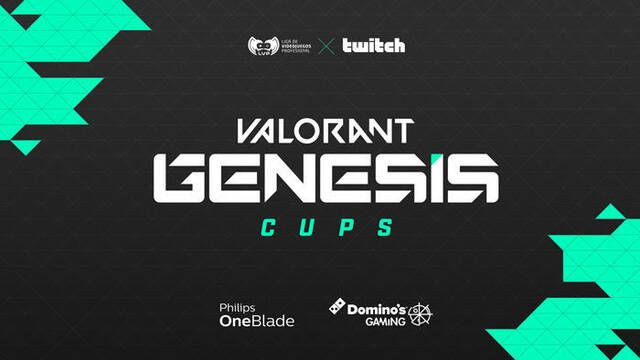 LVP y Twitch lanzan las nuevas Genesis Cups de Valorant