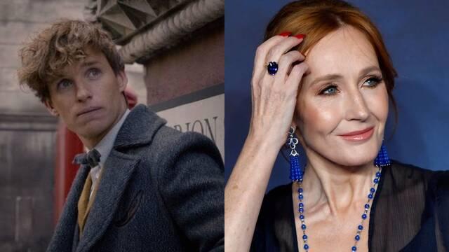 Eddie Redmayne defiende a J.K Rowling tras la campaña de acoso e insultos en redes