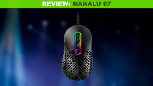 Análisis Mountain Makalu 67, un ratón sumamente ligero y preciso