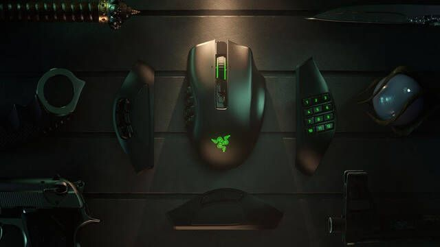 Razer presenta el Razer Naga Pro, un ratón inalámbrico con 3 'carcasas' intercambiables