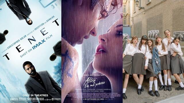Taquilla de España: 'Tenet', 'After 2' y 'Las niñas' encabezan la recaudación