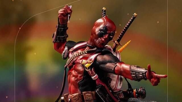 Iron Studios presenta su nueva y carismática estatua para Deadpool