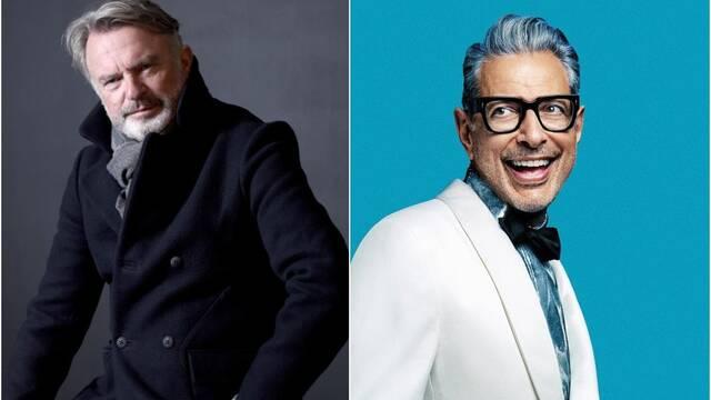 Jurassic World: Sam Neill y Jeff Goldblum, el nuevo dúo musical favorito