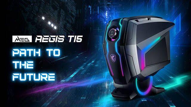 MSI presenta MEG Aegis Ti5, el primer PC de sobremesa con una NVIDIA GeForce RTX 3080