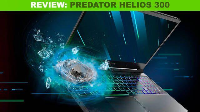 Análisis Acer Predator Helios 300: Un portátil para jugar con buen rendimiento