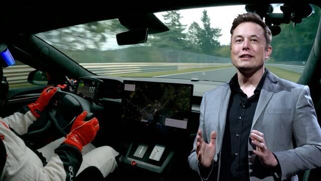 Tesla destroza el récord de vuelta en Nürburgring con un vehículo eléctrico comercial
