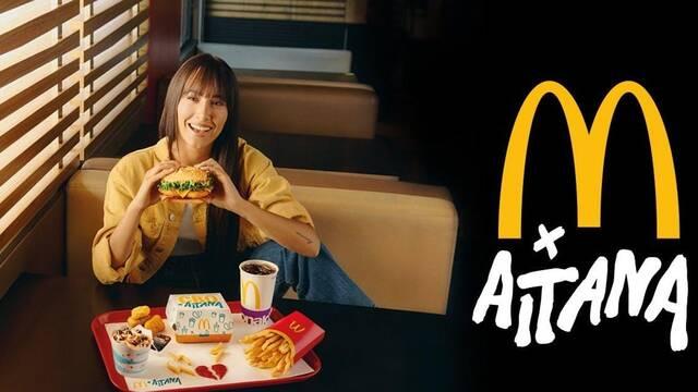 McAitana, la colaboración entre Aitana y McDonald's se llena de memes y bromas