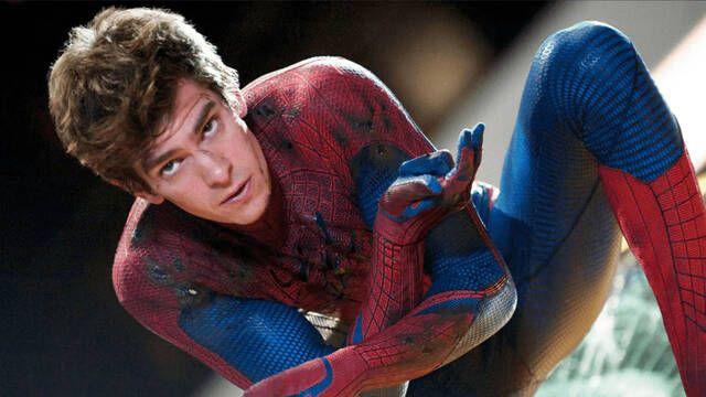 Andrew Garfield desmiente sus imágenes filtradas de 'Spider-Man: No Way Home'