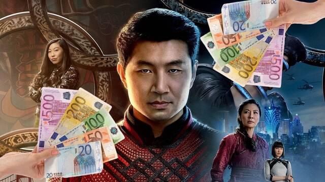 'Shang-Chi' sigue liderando la taquilla con cerca de un millón de euros en España