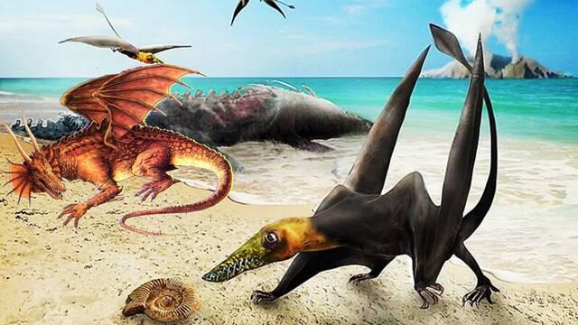Así es el dragón del Jurásico que han encontrado fosilizado en Chile