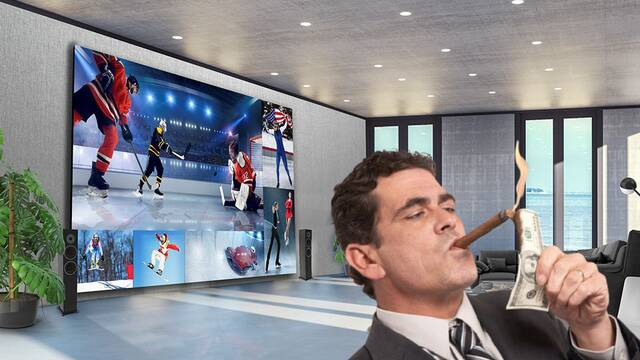 LG presenta su colosal TV 8K de 325 pulgadas por 1,7 millones de dólares