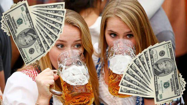 Un grupo de seis amigas paga 680 euros tras consumir cervezas durante 11 horas