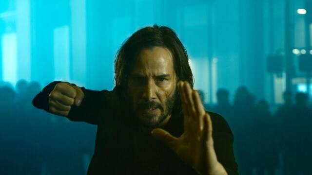 Keanu Reeves ha visto 'Matrix Resurrections' y cree que es 'visionaria y brillante'