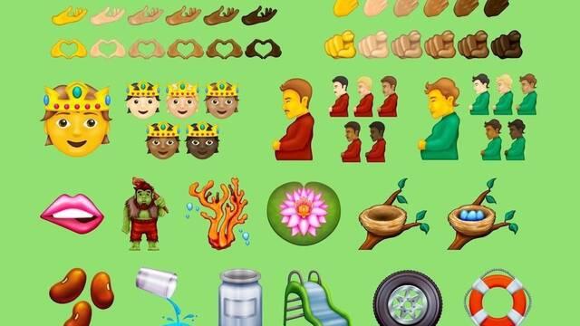 Unicode aprueba 37 nuevos emojis como el hombre embarazado, el saludo militar y el trol
