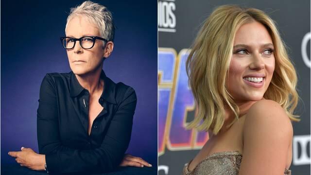Jamie Lee Curtis defiende a Scarlett Johansson: 'No te metas con mamá oso'