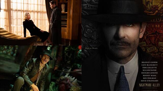Tráiler de 'Nightmare Alley', lo nuevo de Guillermo del Toro con Cate Blanchett y Bradley Cooper