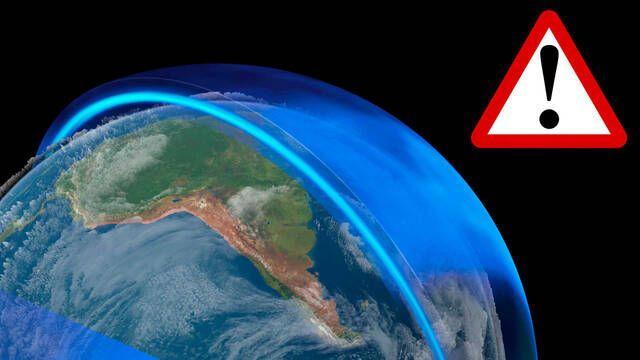 Así es el agujero de la capa de ozono que es más grande que la Antártida