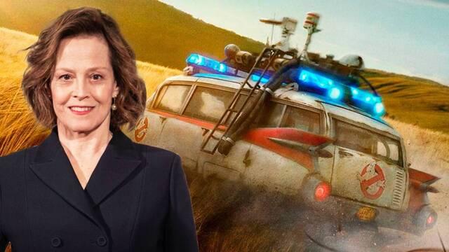 Sigourney Weaver está encantada con 'Cazafantasmas: Más allá'