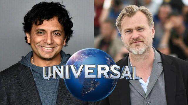 M. Night Shyamalan da una calurosa bienvenida a Christopher Nolan a Universal Studios