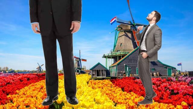 Los holandeses, que eran los más altos del mundo, están empezando a 'encoger'